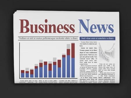 newsprint: Newspapers on dark background
