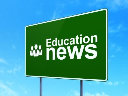 Nachrichten-Konzept: Unternehmen News Und Wachstum-Diagramm-Symbol ...