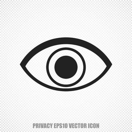 black eye: The universal icon on the safety theme: Black Eye. Modern flat design.