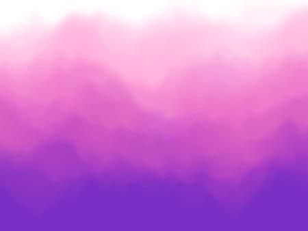 Violet abstract background. Fog or smoke effect. Violet clouds of mist. EPS10, vector illustration.