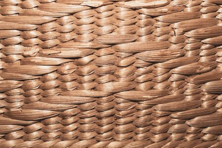 Woven texture. seamless texture of basket surface. wooden vine wicker straw basket. handcraft weave texture