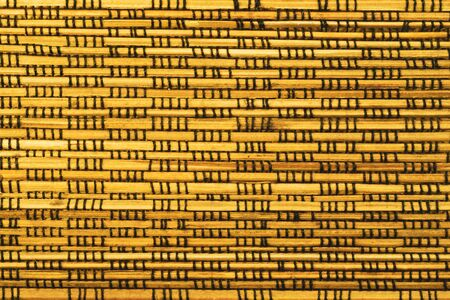 Bamboo texture background. weaving wooden pattern texture