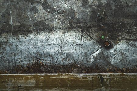 Rusty metal texture background. old iron plate texture. steel wall. hard work concept with copy space