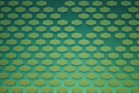 Hexagon pattern. geometric background. hexagonal grid. abstract yellow green texture with hex mesh Stok Fotoğraf