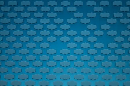 Hexagon pattern. geometric background. hexagonal grid. abstract light blue texture with hex mesh