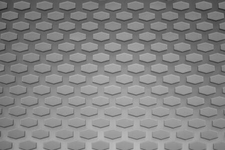 Hexagon pattern. geometric background. hexagonal grid. abstract gray texture. hex mesh