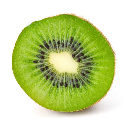 Kiwi isolated over white background Stock Photo - 3626041