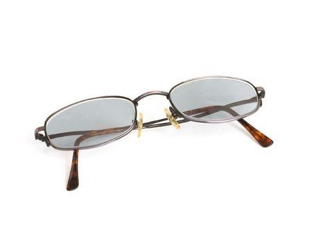 안경은 흰색 배경에 고립 된 스톡 콘텐츠