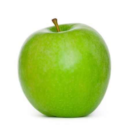 Fresh apple on white background Stock Photo - 3673732