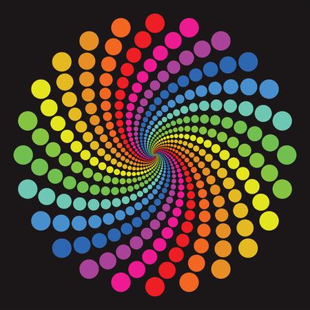 kleurrijke cirkel patroon Vector Illustratie