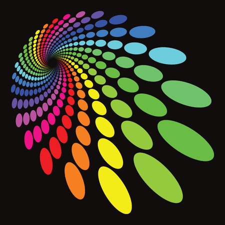 Colorful Circle Pattern Vector