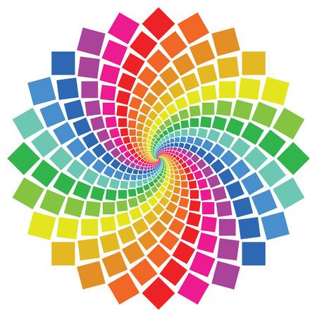 Patrón circular sobre fondo blanco Foto de archivo - 4502821
