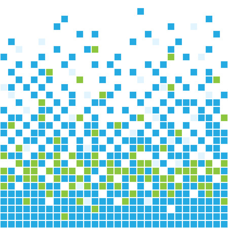 pixel art: seamless mosaic background Illustration