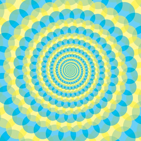 illustration of spiral abstract background Vector