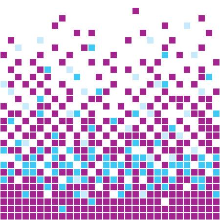 illustration of purple mosaic background Stock Vector - 6994246