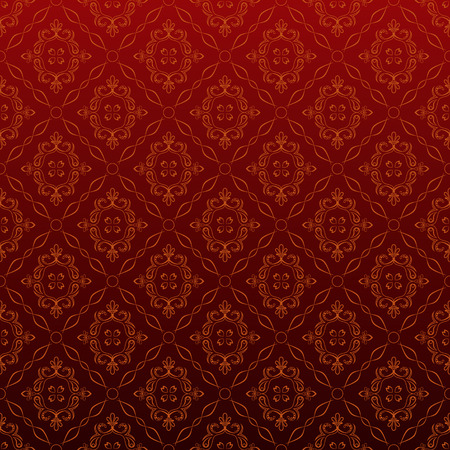 Seamless Red Wallpaper