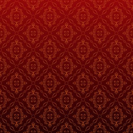 Seamless Red Wallpaper Zdjęcie Seryjne - 6994292