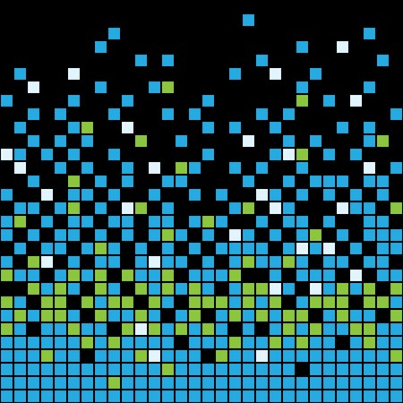 Abstract Pixel Background Stock Vector - 7048551
