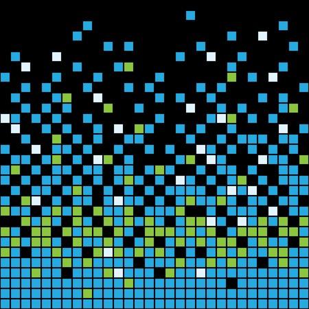 bathroom design: Abstract Pixel Background Illustration