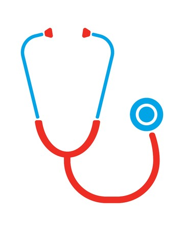 cardiac: Stethoscope Illustration