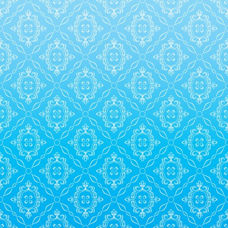 baroque pattern: Seamless Wallpaper