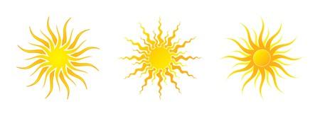 Sun Icons Stock Vector - 7122975