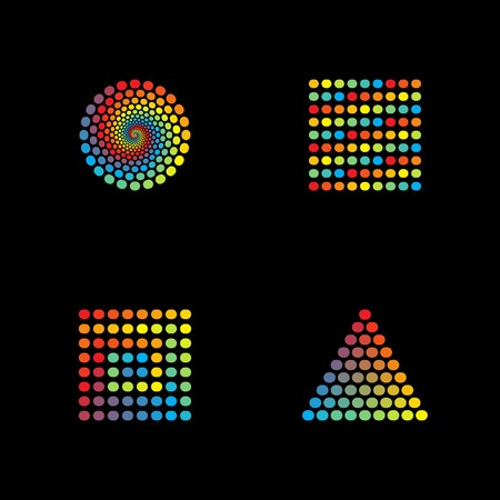 Spectrum Icons Stock Vector - 7130143