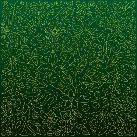 Fond vert sans soudure Banque d'images - 7101812