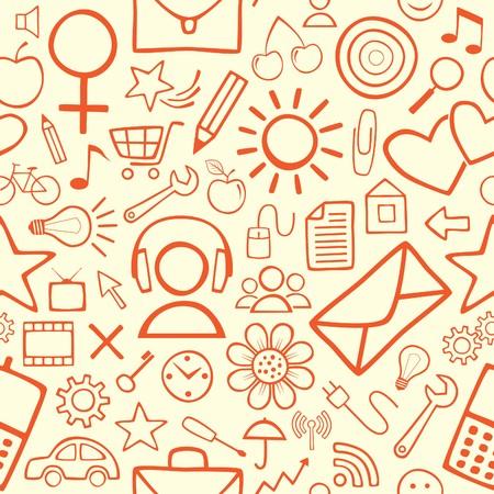 Seamless Wallpaper Stock Vector - 7130149