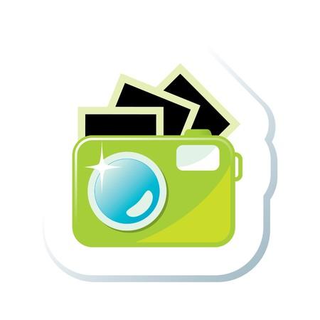 movie camera: Camera Illustration