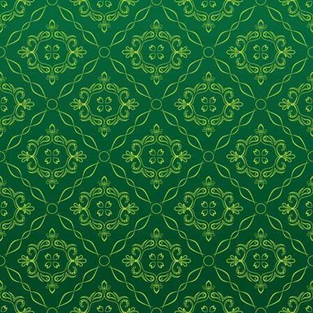 Seamless Red Wallpaper Stock Vector - 7101824
