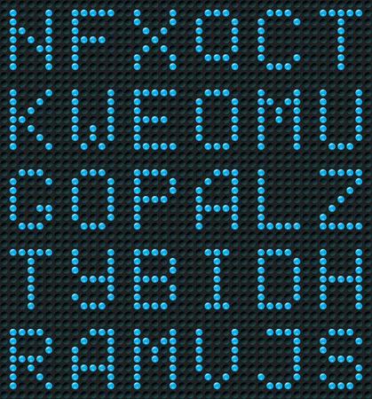 Seamless Alphabet Background or Wallpaper Stock Vector - 7640074