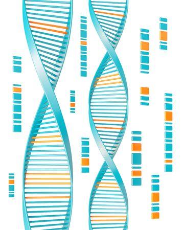 genes: DNA  Foto de archivo