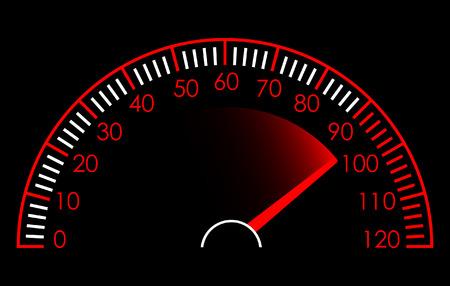 chilometro: Tachimetro  Vettoriali