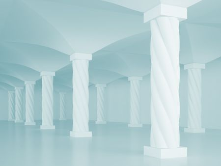 Interior Columns Stock Photo - 7852530