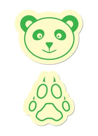 Panda Icons Vector