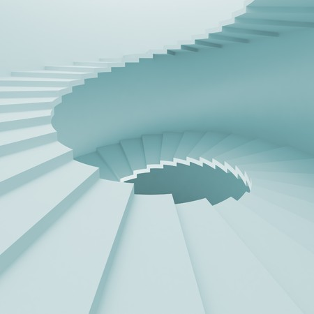 Spiral Staircase Background Stock Photo - 8167547