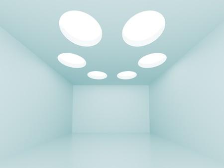 Blue Abstract Interior Stock Photo - 8248971
