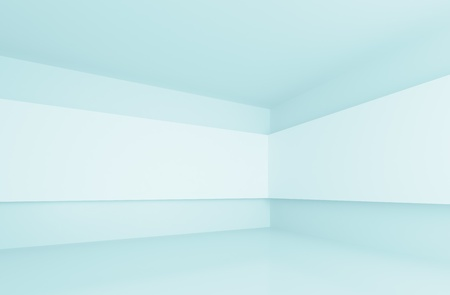 space background: Blue Gallery Interior  Stock Photo