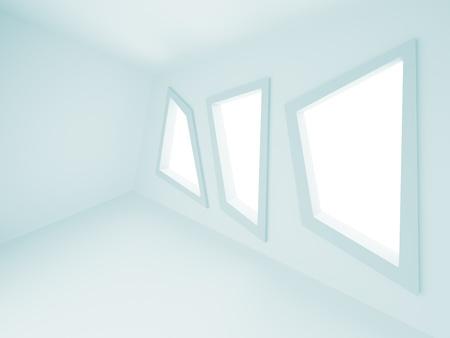 Blue Abstract Interior Stock Photo - 8248972
