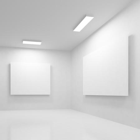 art museum: Modern Gallery Stock Photo
