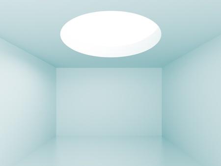 Blue Futuristic Interior Stock Photo - 8394080