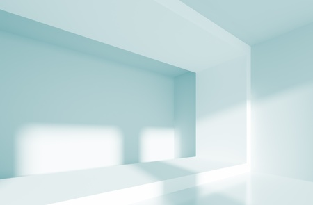 Blue Abstract Interior photo