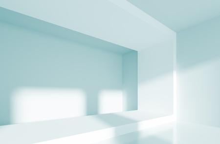 Blue Abstract Interior Stock Photo - 8394076
