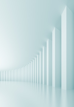 Abstract Columns Background Stock Photo - 8394063