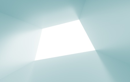 tunnel vision: Blue Abstract  Background Stock Photo