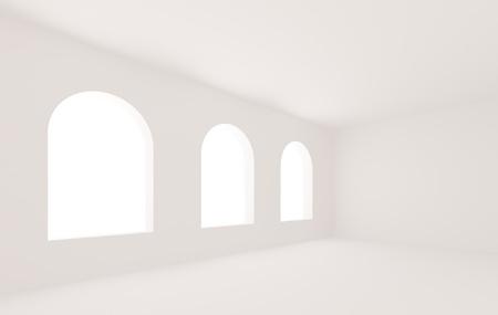 White Room Stock Photo - 8447860
