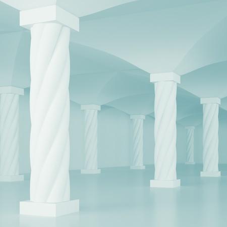 Columns  Stock Photo - 8481558