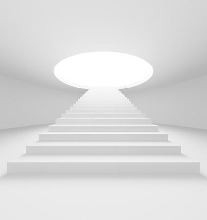 Treppe-Hintergrund Standard-Bild - 8481545