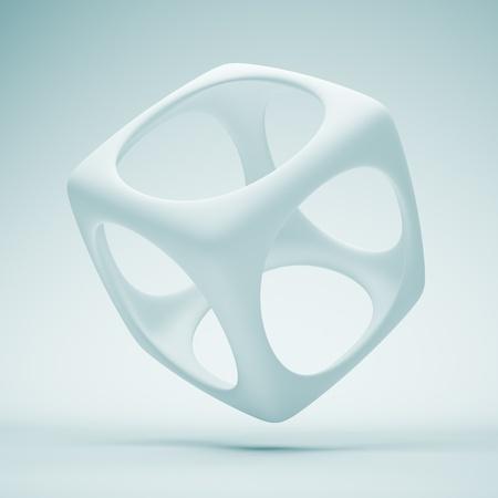 square logo: 3d Design Element Stock Photo